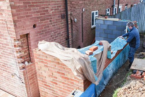 waterproofing external wall